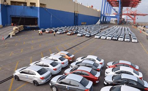 Vehicle Shipping Yard