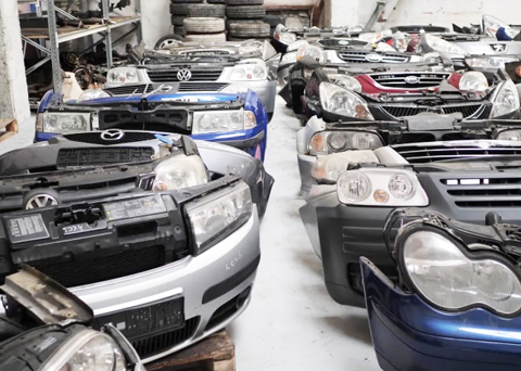 Vehicle Dismantling for Parts  Service in Japan