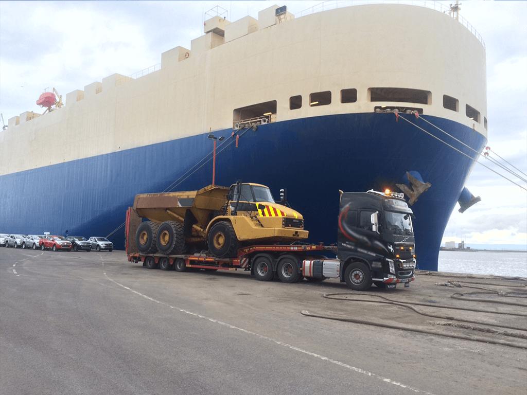 RORO Shipment