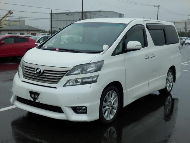 Toyota Vellfire  Van / OneBox 9 - 2009  IAT PEARL WHITE