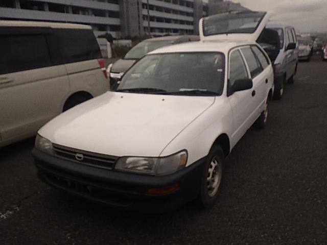 Toyota Corolla Van  Station Wagon 10 - 2001  F5 WHITE