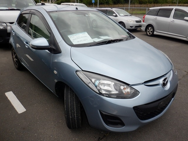 MAZDA DEMIO  HATCHBACK 8 - 2012  IAT LIGHT BLUE