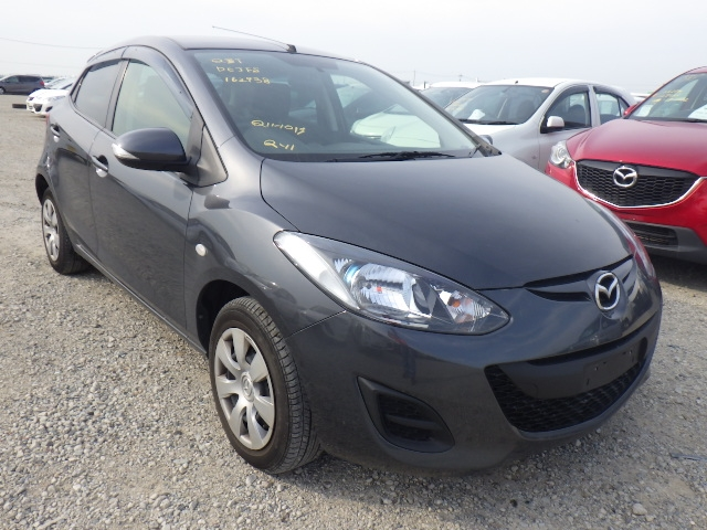 Mazda Demio  Hatchback 10 - 2013  AT GRAY