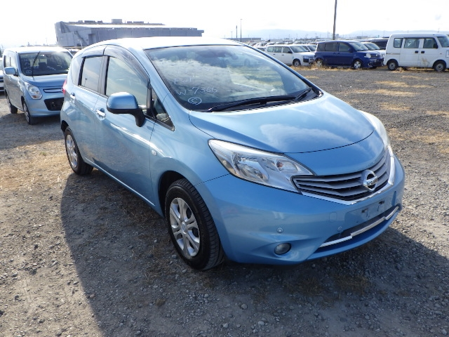 NISSAN NOTE  HATCHBACK 1 - 2014  FAT LIGHT BLUE