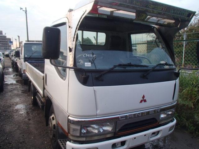 MITSUBISHI CANTER GUTS  TRUCK 8 - 1996  F5 WHITE