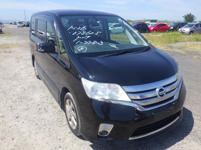 Nissan Serena  Van / OneBox 7 - 2012  IAT BLACK