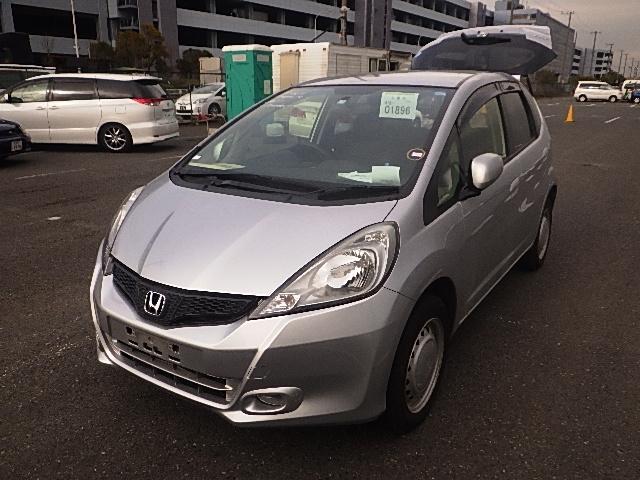 Honda Fit  Hatchback 3 - 2013  FAT SILVER