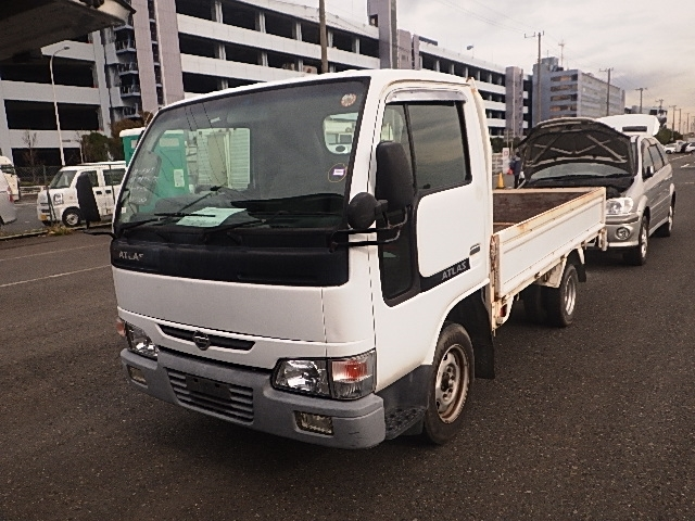 Nissan Atlas Truck  Truck 9 - 2006  F5 WHITE