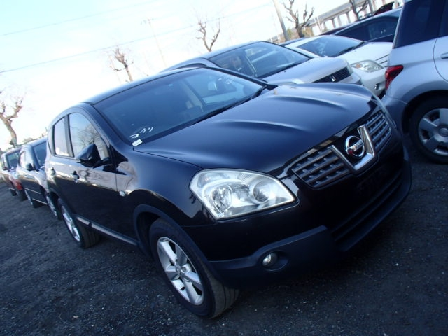 Nissan Dualis  SUV 6 - 2007  FAT Black