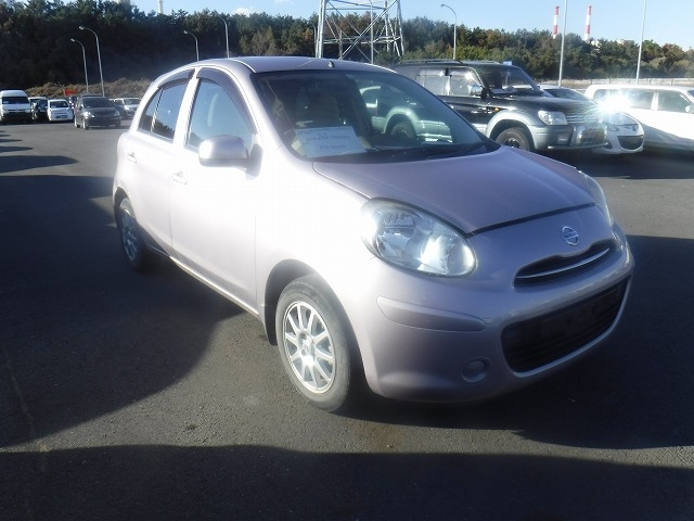 Nissan March  Hatchback 1 - 2012  FAT SILVER