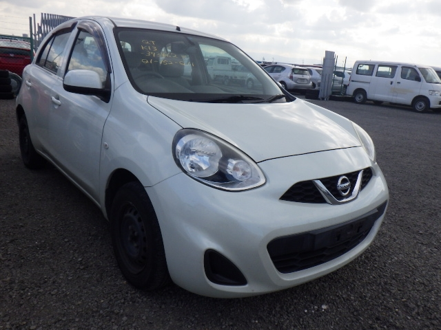 Nissan March  Hatchback 11 - 2013  AT WHITE