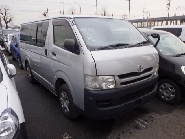 Toyota Hiace Van  Van / OneBox 12 - 2009  5D SILVER