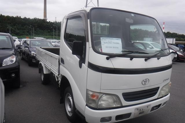 Toyota Dyna Truck  Truck 5 - 2005  F5 WHITE