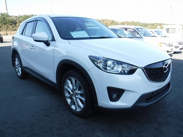 Mazda CX-5  SUV 11 - 2012  AT Pearl White