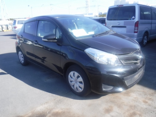 Toyota Vitz  Hatchback 2 - 2012  FAT BLACK