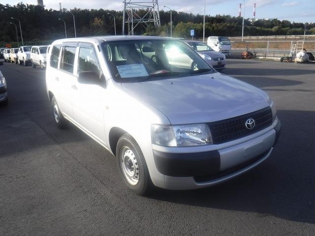 Toyota Probox Van  Station Wagon 9 - 2013  AT SILVER