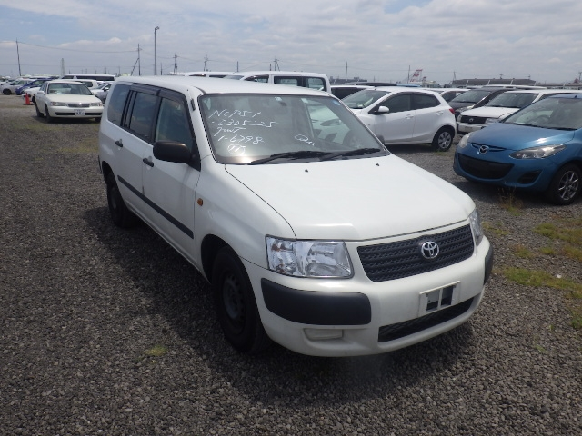 Toyota Succeed Van  Station Wagon 5 - 2013  FAT WHITE