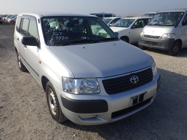 Toyota Succeed Van  Station Wagon 10 - 2013  AT SILVER