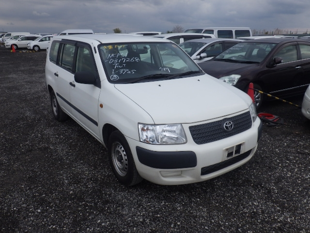 Toyota Succeed Van  Station Wagon 11 - 2013  F5 WHITE