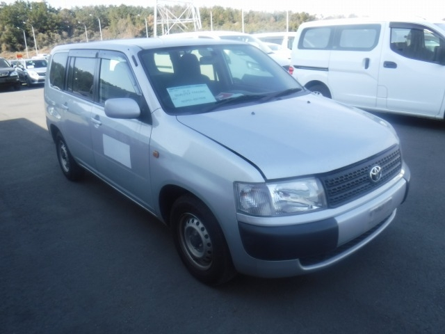 Toyota Probox Van  Station Wagon 12 - 2013  AT SILVER