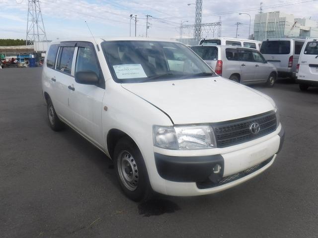 Toyota Probox Van  Station Wagon 11 - 2012  FAT WHITE