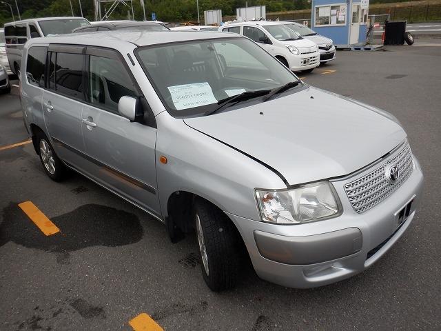 Toyota Succeed Wagon  Station Wagon 11 - 2002  FAT SILVER
