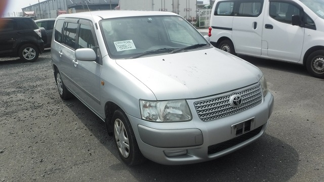 TOYOTA SUCCEED WAGON  STATION WAGON 3 - 2008  AT SILVER