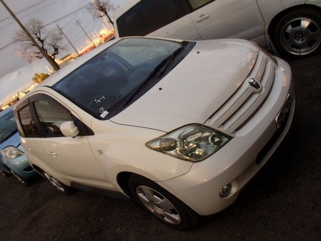 Toyota IST  Hatchback 1 - 2005  FAT Pearl White