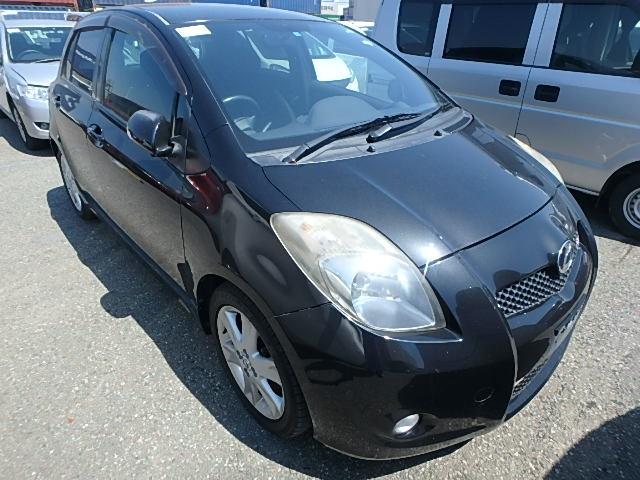 Toyota Vitz  Hatchback 2 - 2008  F5 Black