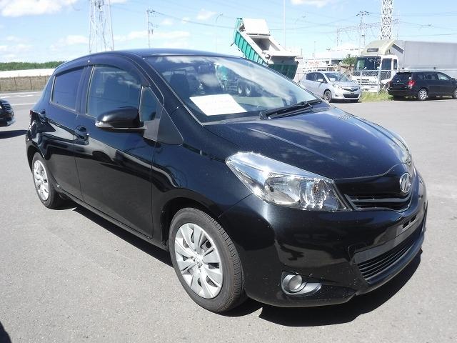 Toyota Vitz  Hatchback 9 - 2012  AT BLACK