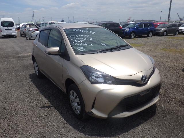 Toyota Vitz  Hatchback 5 - 2014  FAT GOLD