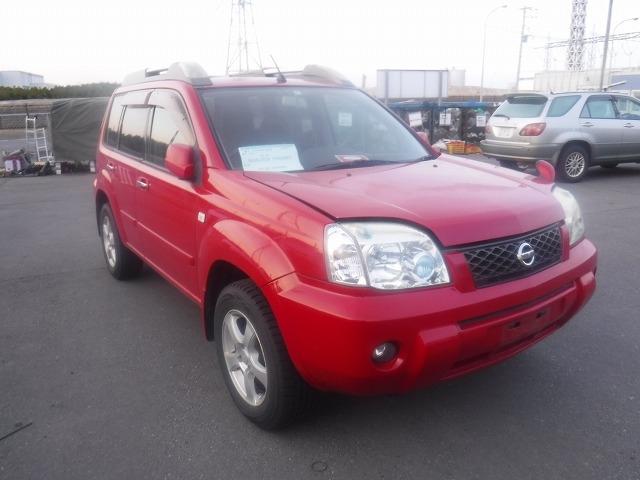 Nissan X-Trail  SUV 3 - 2006  FAT RED