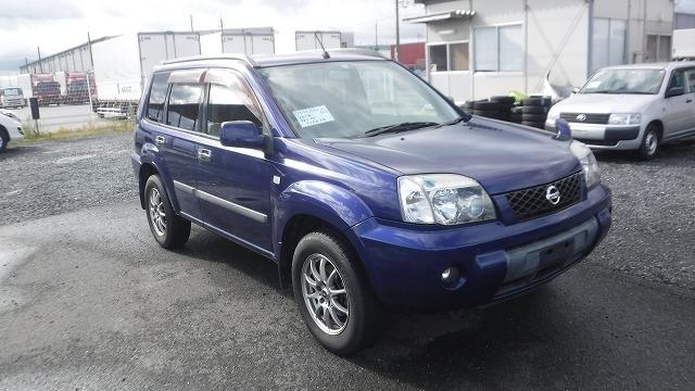 NISSAN X-TRAIL  SUV 10 - 2006  F5 DARK BLUE