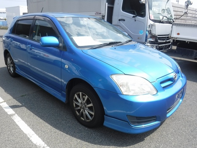 Toyota Corolla Runx  Hatchback 1 - 2005  FAT BLUE