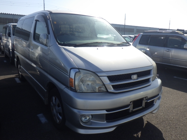 TOYOTA TOURING HIACE  VAN / ONEBOX 11 - 2001  CAT SILVER