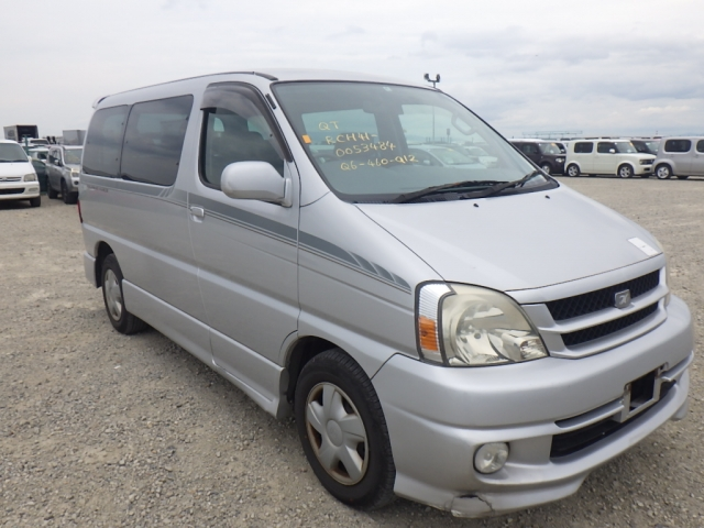 Toyota Touring Hiace  Van / OneBox 4 - 2002  CAT SILVER