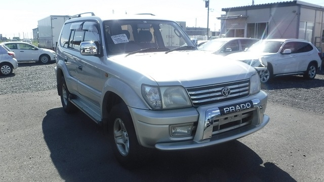 TOYOTA LAND CRUISER PRADO  SUV 9 - 2000  FAT SILVER