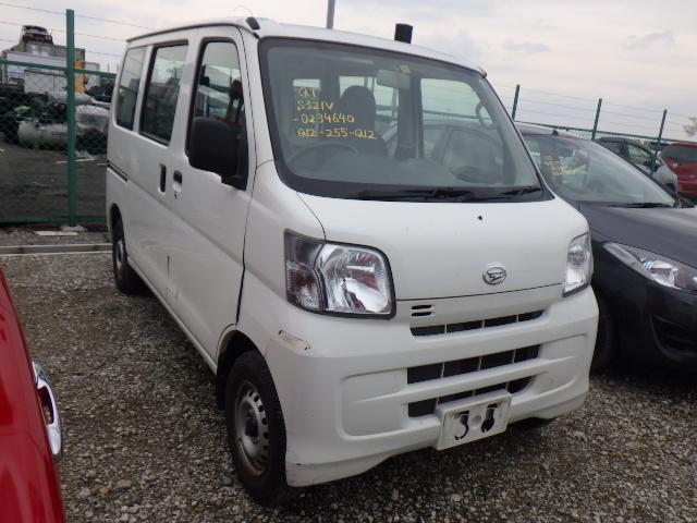 Daihatsu Hijet Van  Van / OneBox 11 - 2014  F5 WHITE