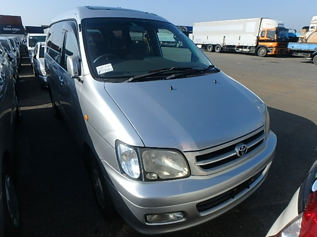 Toyota Townace Noah  Van / OneBox 9 - 2000  DAT Silver
