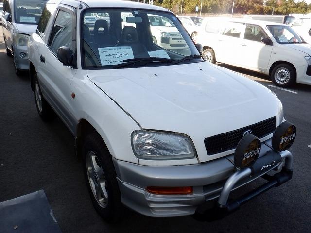 TOYOTA RAV4 J  SUV 1 - 1997  F5 WHITE