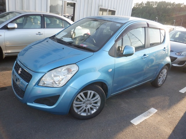 SUZUKI SPLASH  HATCHBACK 8 - 2012  IAT LIGHT BLUE