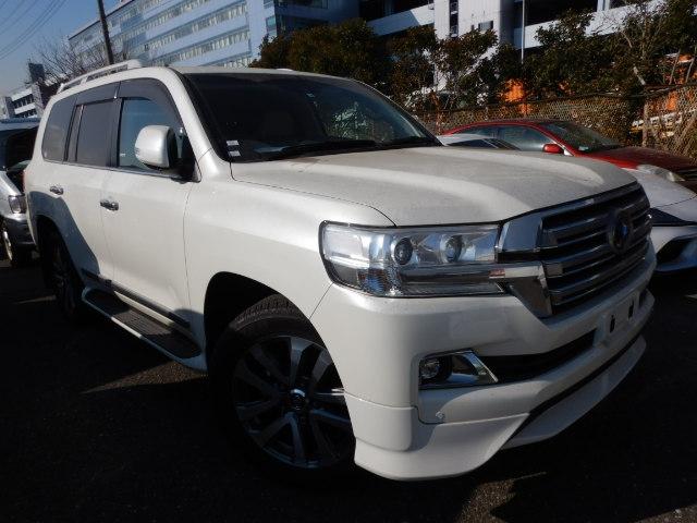 TOYOTA LAND CRUISER WAGON  SUV 4 - 2016  FAT PEARL WHITE