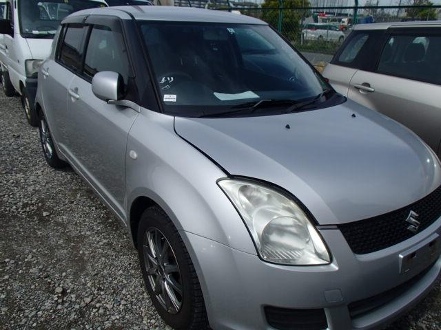 Suzuki Swift  Hatchback 3 - 2008  FAT SILVER
