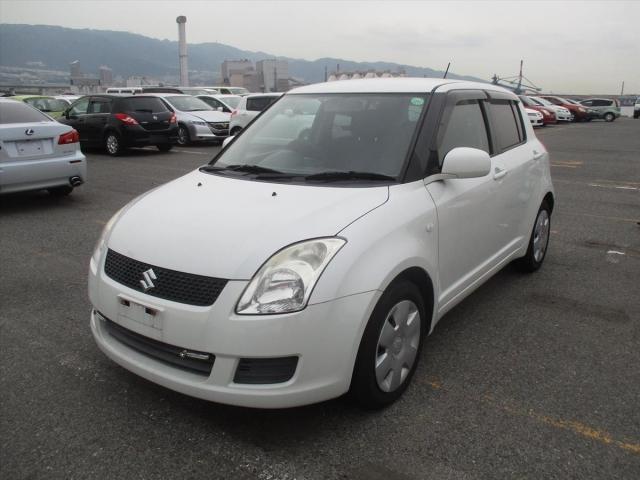 Suzuki Swift  Hatchback 7 - 2010  FCVT PEARL WHITE
