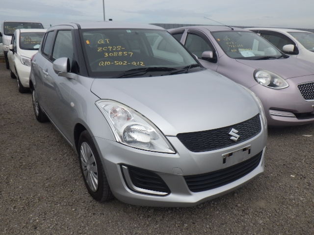 SUZUKI SWIFT  HATCHBACK 10 - 2013  FAT SILVER