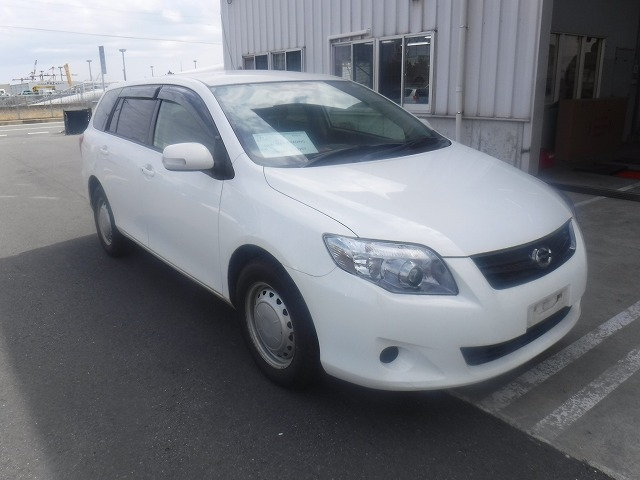 Toyota Corolla Fielder  Station Wagon 2 - 2012  FAT WHITE