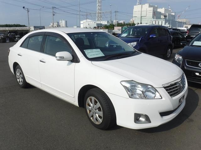 Toyota Premio  Sedan 5 - 2010  FCVT WHITE