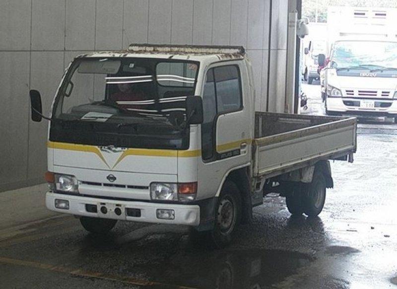 Nissan Atlas Truck  Truck 2 - 1993  F5 PEARL WHITE