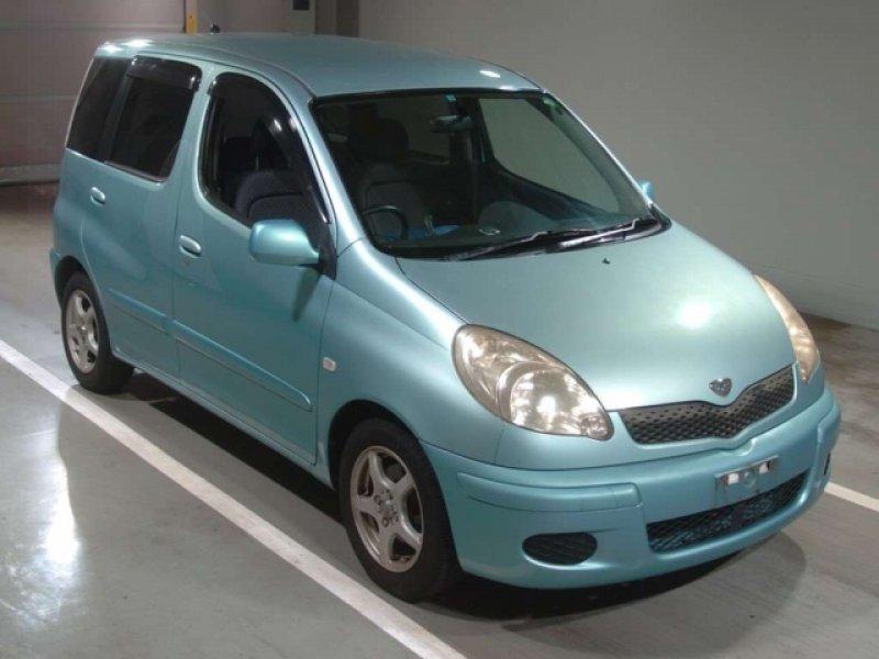 Toyota Funcargo  Hatchback 1 - 2003  CAT Blue