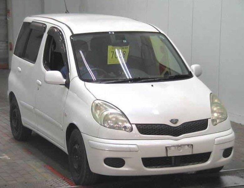 Toyota Funcargo  Hatchback 5 - 2005  AT White
